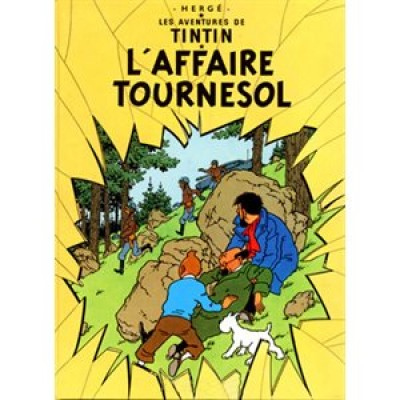 Affiche L'affaire Tournesol