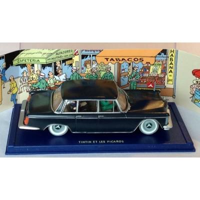 VOITURE TINTIN CAR ATLAS # 42 LE CAMION DES POMPIERS